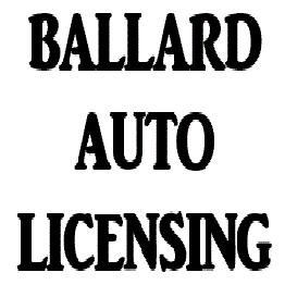 Ballard Auto Licensing