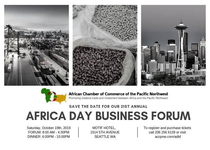 ACCPNW 21st Annual Africa Day Business Forum | Tabor100 org