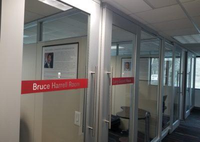Bruce Harrell Huddle Room